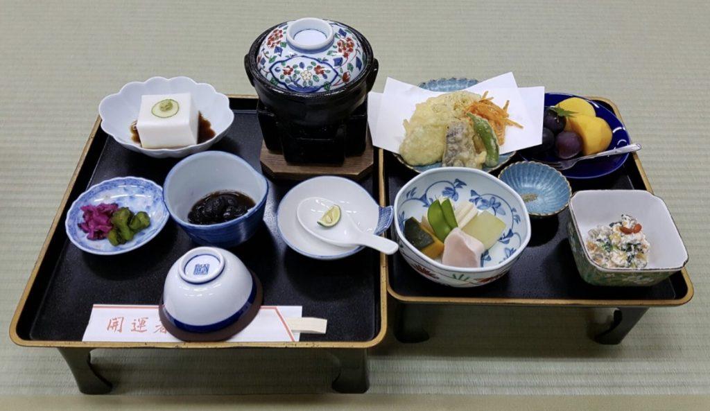 Kolacja w stylu shojin-ryori